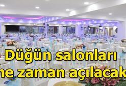 Düğün salonları ne zaman açılacak Gözler kabine toplantısında çıkacak kararlara çevrildi