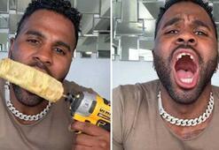 Jason Derulo, TikTok çekerken dişlerini parçaladı