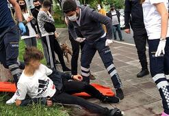 Gençlerin kavgasında kan aktı 8 yerinden bıçaklandı