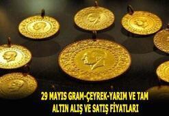 Canlı altın fiyatları 29 Mayıs Çeyrek altın bugün alış satış fiyatı ve gram,yarım, tam altın 2020 fiyatları ve kuru nedir