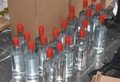 İzmirde sahte etil alkol operasyonu