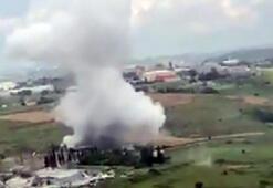 İstanbul Başakşehirde bir fabrikanın kazan dairesinde patlama meydana geldi