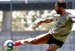 Sergio Ramos adeta forvet gibi