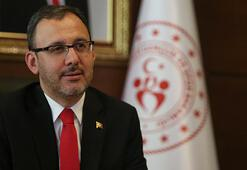 Bakan Kasapoğlundan Nihat Özdemire geçmiş olsun telefonu