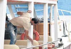 Tur tekneleri, sezon hazırlıklarını sürdürüyor