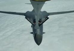 MSB duyurdu: ABDye ait 2 B-1 uçağına yakıt ikmali yapıldı