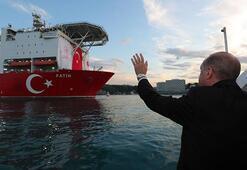 Cumhurbaşkanı Erdoğan, Fatih sondaj gemisini uğurladı