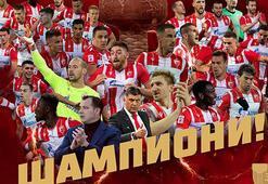 Sırbistanda şampiyon Kızılyıldız oldu