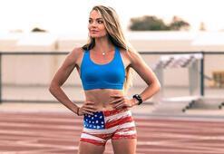 ABDli atlet Chari Hawkins, paylaşımlarını sürdürüyor
