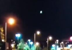 Son dakika | İstanbul'da gök taşının düşmesi görüntülendi Meteor geceyi aydınlattı...