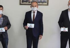 Başkan Akın'dan  25 bin maske
