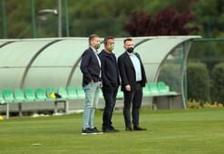 Fenerbahçede Başkan Ali Koç idmanı takip etti