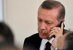 Cumhurbaşkanı Erdoğan şehit teğmen Tatarın babası ile telefonda  görüştü