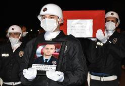 Şehit polis memuru Atakan Arslanın cenazesi Samsuna getirildi