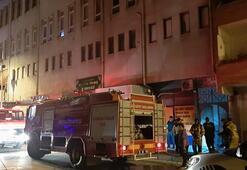 Bursada korkutan yangın Ekipler oraya koştu