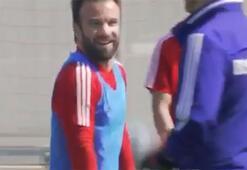 Valbuena, Olympiakosla idmanlara geri döndü...