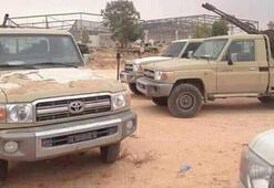 UMH birlikleri, Mitiga Havaalanı çevresinde Haftere ait askeri araçları imha etti