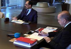 Cumhurbaşkanı Erdoğan karantina dönemini nasıl geçirdi İbrahim Kalın anlattı