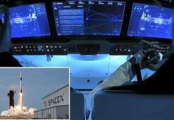 Son dakika... SpaceXin tarihi uzay yolculuğunda mutlu son: Kenetlenme tamamlandı