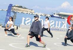 Aydın'da spor zamanı