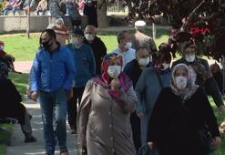 65 yaş üstü vatandaşlar sokaklara akın etti
