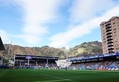 La Ligada balkon tribünü Eibar maçları...