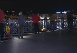 Balık tutma yasağı kalktı, vatandaşlar Galata Köprüsüne akın etti