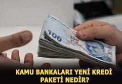 Kamu bankaları yeni kredi paketleri neler, ödeme tablosu nasıl Kamu bankaları hangileri, kredi desteği başvuru şartları nedir