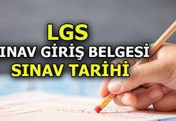 LGS sınav giriş belgesi yayımlandı mı Açıklandı LGS 2020 ne zaman