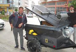 Mini karavan hayallerine 20 günde ulaştılar