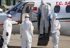 Rusyadaki Türk hasta yurda getirildi