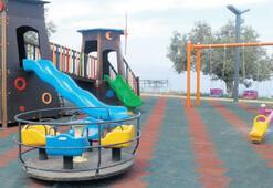 Burhaniye'ye park
