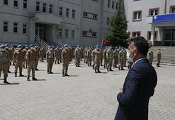 Bitlis Valisi Çağatay JÖH Tabur Komutanlığına ziyaret etti