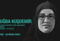 Bakan Kocadan, Tuğba hemşire paylaşımı: Minnetarız