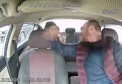 Taksici, 22 lira için kadın müşteriye saldırdı