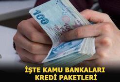 Kamu bankaları yeni kredi paketleri ile faiz oranları Halbank,Ziraat Bankası ve Vakıfbank kredi başvurusu nasıl yapılır