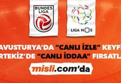 Avusturya ve Portekiz Ligi iddaa heyecanı Misli.comda