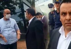 Bursada kaçak bina yıkımda zabıta memuruna yumruklu saldırı