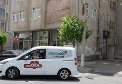 Diyarbakırda 4 katlı apartman, karantinaya alındı