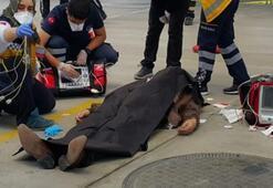Seyir halindeki otomobilde cinayet Katili otomobili alıp kaçtı