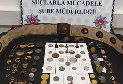 Son dakika... Mardinde çok sayıda tarihi eser ele geçirildi