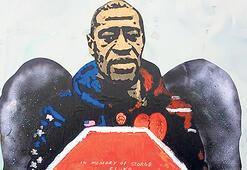 Sanatçılardan George Floyd anısına eserler