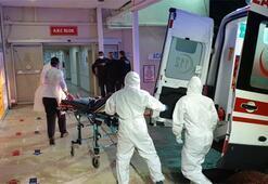 Anneleri corona virüse yakalanan Türk aile ambulans uçakla getirildi