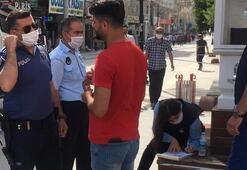Mardin'de maskesiz dolaşanlara ceza yağdı