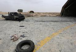Libyada Hafter milisleri cesetleri bırakarak kaçtı
