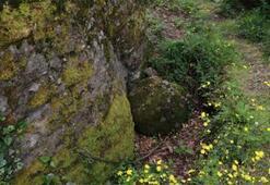 Türk kaya yazıtlarını ve kaya mezarlarını defineciler talan etti