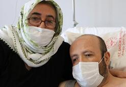 Bayramda çifte sevinç 8 yıl sonra nakille sağlığına kavuştu