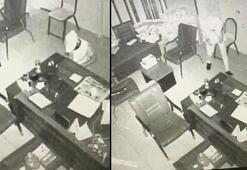 Muhtarlığa giren hırsızın görüntüsünü sosyal medyadan paylaştı