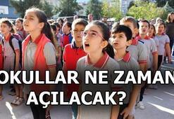 Okullar ne zaman açılacak 2021 Yaz tatili ne zaman başlıyor