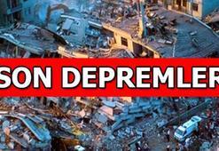 Son depremler listesi | Deprem mi oldu AFAD - Kandilli Rasathanesi